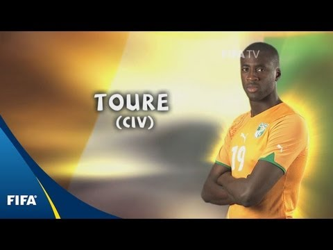 Yaya Toure - 2010 FIFA World Cup