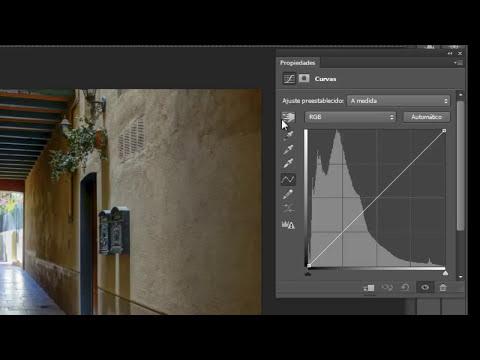 Curvas en Photoshop CS6: Trucos y la herramienta
