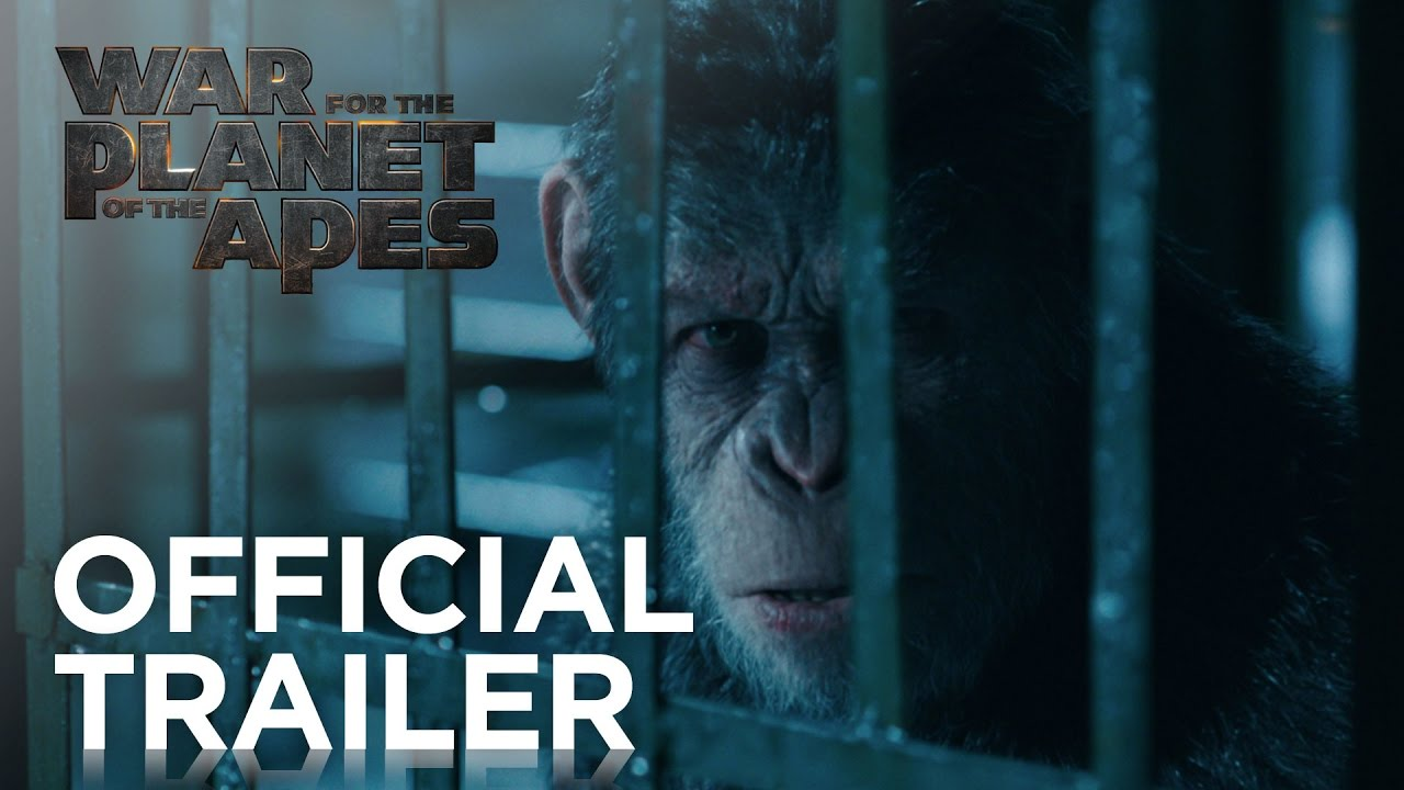 War for the Planet of the Apes [1st Official Trailer]