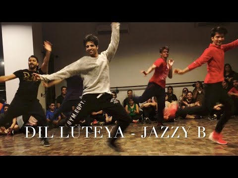 Dil Luteya - Jazzy B| Dance Cover | Rohan Pherwani | Choreography | Bhangra Swag thumbnail