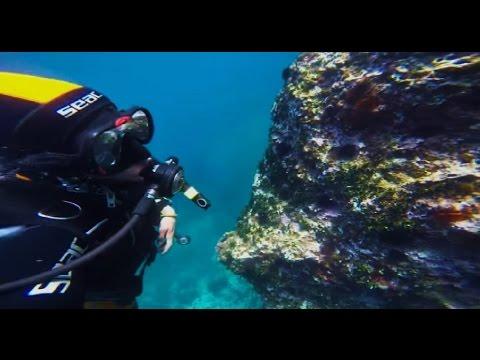 Plongée sous marine à Oran [GoPro]