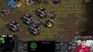 StarCraft Remastered 1v1 Artosis' First Games of SC:R  (T) vs workd963 (P) Arcadia 2