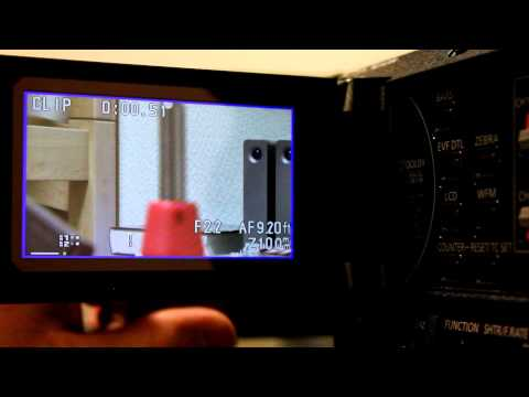 How To Focus & Its Settings Panasonic AG-AC160A