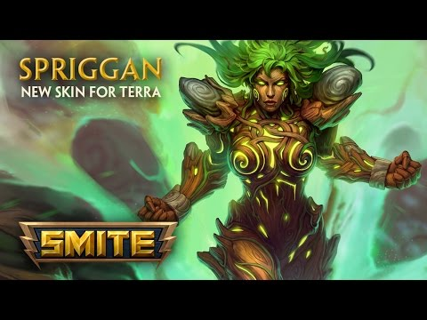 SMITE - New Skin for Terra - Spriggan