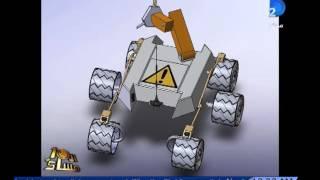 برنامج العاشرة مساء|روبوت لتسهيل مهمة رواد الفضاء على المريخ .. اختراع جديد لطلاب جامعة المنصورة