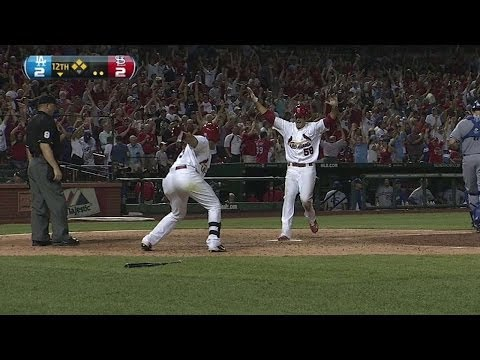 LAD@STL: Furcal gives Cards walk-off win in the 12th