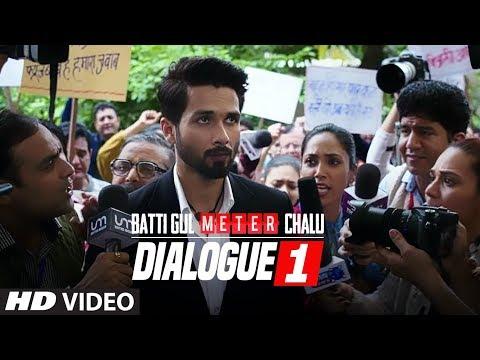 Dialogue Promo 1: Batti Gul Meter Chalu |Shahid Kapoor, Shraddha Kapoor, Divyendu Sharma,Yami Gautam