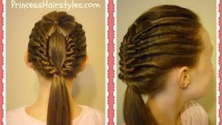 Window Braid Tutorial, Edgy Hairstyles