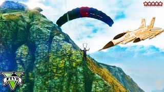 GTA 5 MINI GAMES CHALLENGE! Mt. Chiliad Races, Air Stunt Copycat & Jet Thief! GTA 5 Funny Moments