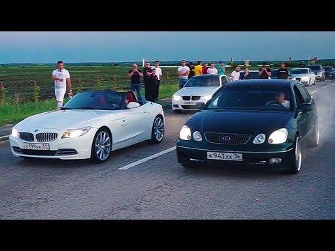 СТУДЕНТ на LEXUS гоняет МАЖОРОВ на ДОРОГИХ AUDI , BMW , PORSCHE и NISSAN GTR