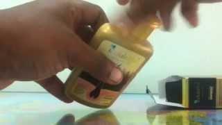 How to apply indulekha hair oil
