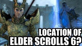 Where Elder Scrolls 6 Will Be Set