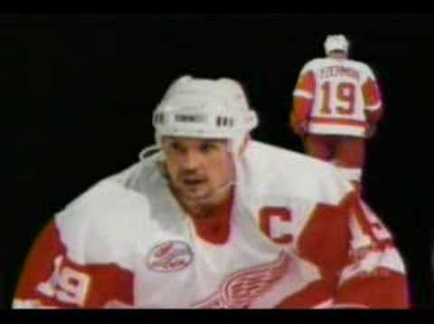 The BEST Steve Yzerman Tribute w/ retirement of jersey Video