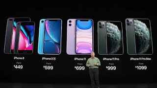iPhone 11, iPhone 11 Pro & iPhone 11 Pro Max Unveiled
