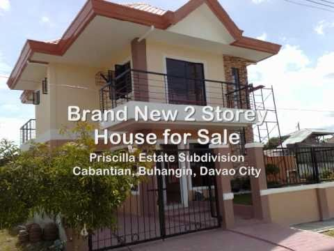 Davao Houses - 2 Storey Davao House for Sale at Priscilla Estate
