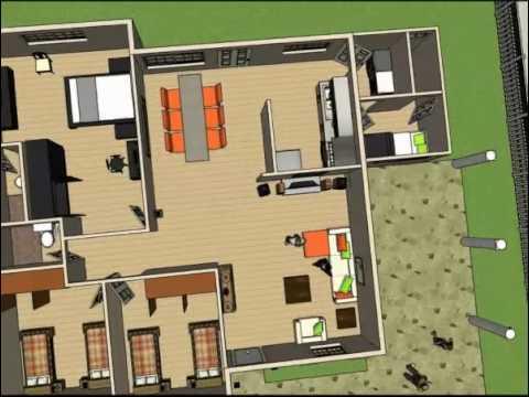 Cumbres de zaragoza dise o casa modelo youtube for Casa de diseno en neuquen