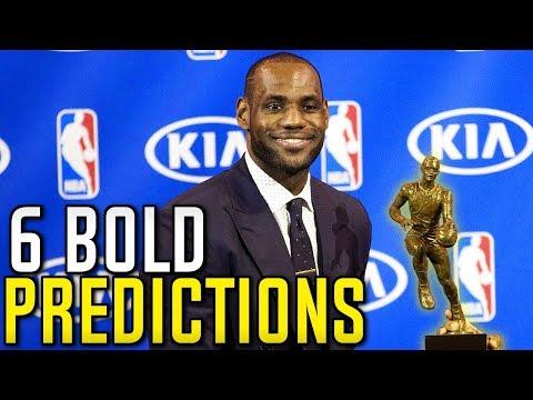 6 BOLD NBA PREDICTIONS FOR 2018