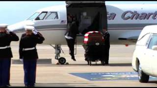 The Homecoming Of Fallen Hero Sgt. Daniel M. Angus-Pt.1
