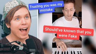 Singing Lyrics From Charlie Puth's TikTok Challenge