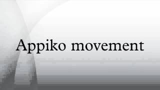 Appiko movement