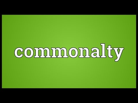Header of commonalty