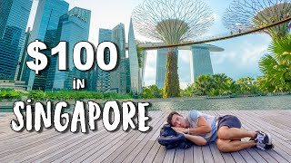 What Can $100 Get in SINGAPORE (World's Most Expensive Country)