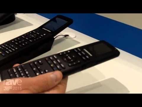 ISE 2015: Crestron Exhibits Their Handhelds and Wireless Touch Screens