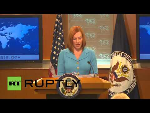 USA: 'US aware of reports John Kerry was spied on' - Jen Psaki