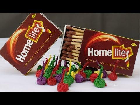 How To Make POP POP BOMB Using Matchbox - Easy | Diwali Crackers