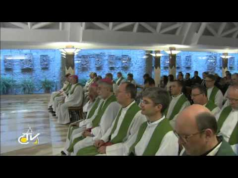 """Papa Francesco: """"Preghiamo Dio con coraggio e insistenza"""""""