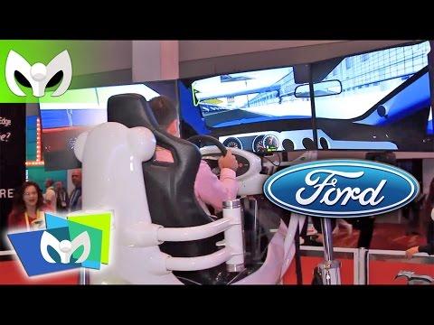 LA MEJOR SIMULACION DE CARRERAS - Ford #CES2015