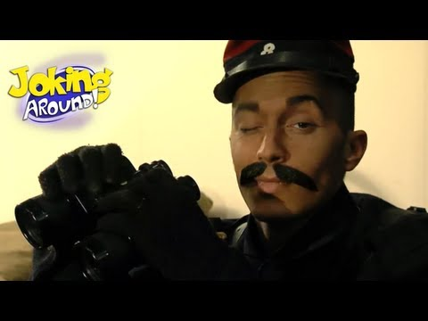 Soldier in museum | Joking Around