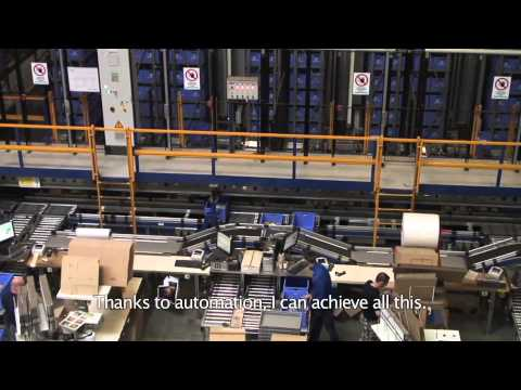 Integrated order picking at Highlite International by Egemin Automation