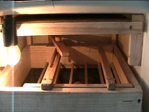 incubator din frigider vechi, инкубатор из старого холодильника