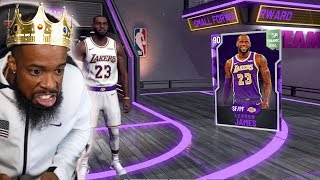 NBA 2K20 INSANE PACK OPENING LUCK! WE GOT LEBRON JAMES!!