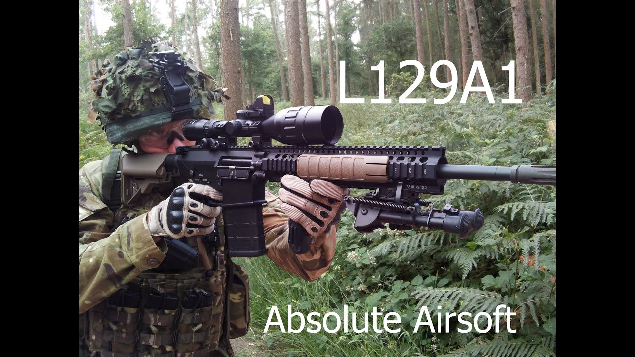 L129A1 DMR - Absolute Airsoft Reading 21.07.2013 - YouTube