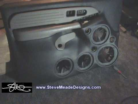 Custom SMD Door Panels Back From Upholstery Tahoe System