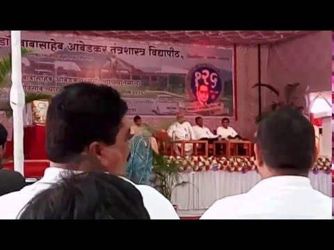 speech against modi rss bjp hindu brahmans indian soldiers by kolse patil at BATU lonere part I