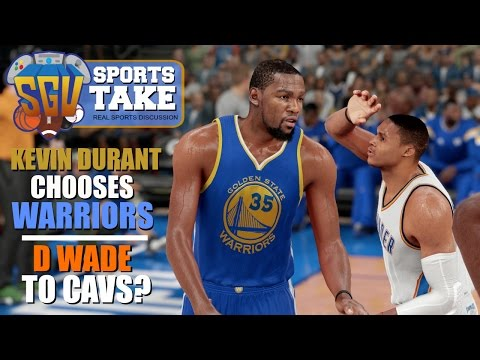 Kevin Durant Chooses Golden State! ... Dwyane Wade To The Cavs? - SGU Sports Take - EP5