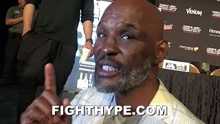 BERNARD HOPKINS REACTS TO ERROL SPENCE SAYING HE'D FIGHT CANELO AT 160; ADMITS HE'D BE A PROBLEM