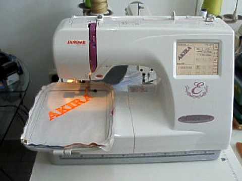 BORDADORA JANOME CRAFT  350 E MAQUINERIA  JUANMA