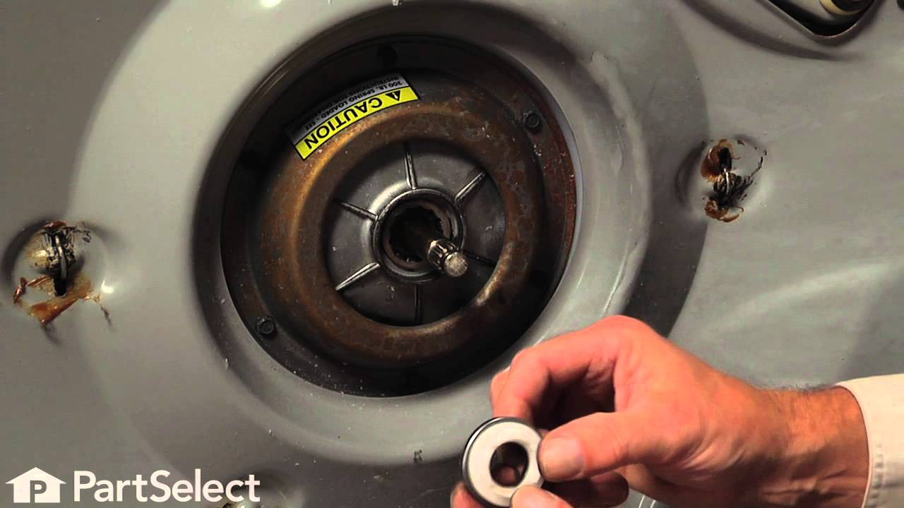 Washing Machine Repair Replacing The Transmission Pulley