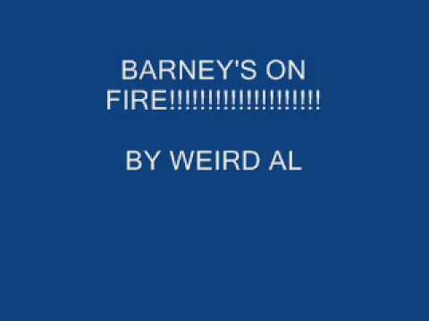 Barney - Fire And Flames
