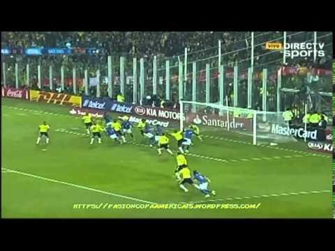 Brasil 0-1 Colombia (Blu Radio) - Copa América 2015