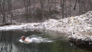 Winter Swimming in Appalachian