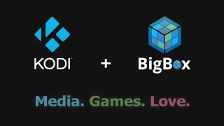 Kodi Games Library with Big Box