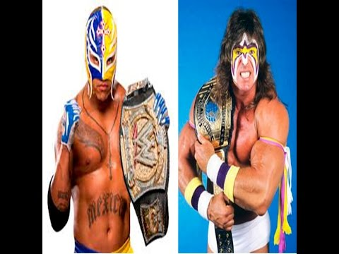 WWE Rey Mysterio vs Ultimate Warrior