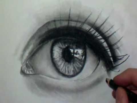 photo comment dessiner des yeux realiste