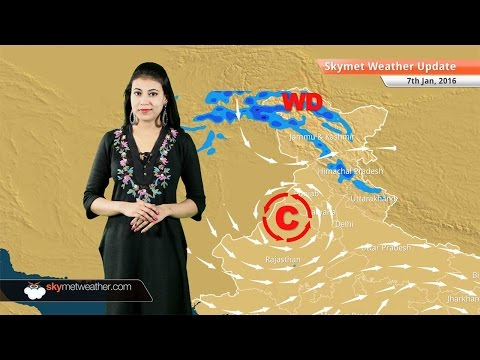 Weather Forecast for January 7: Snow in Jammu and Kashmir and rain in Tamil Nadu