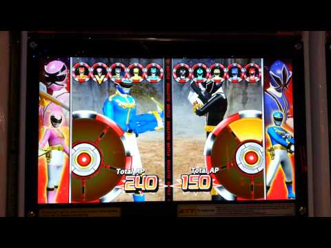 Power rangers card battle 2 - megaforce gameplay